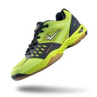 Sepatu Eagle Rusher Kuning/Hitam - Badminton Shoes - 37