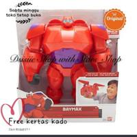 Disney Big hero 6 Baymax Action Figure 8  Original Ban Dai / Robot