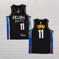 Baju Jersey Basket Swingman NBA Kyrie Irving Brklyn Nets City Edition