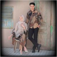 Kebaya Modern Pakaian Batik Atasan Blouse Baju Cople Kondangan Terbaru