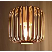 Kap Lampu Gantung Bambu Unik