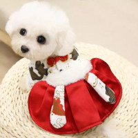 CNY Koi Dress ll cheongsam cny dress anjing kucing