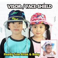 VISOR FACE SHIELD CORONA BAYI & ANAK I MURAH BERKUALITAS