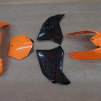body set/complete kit mix ktm 125/200/250/300/350/450/500 2007-2011