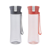 LocknLock Exclusive Silicon Strap One Touch Water Bottle 550ML