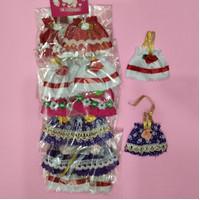 Baju Barbie bayi Kelly isi 12 pcs/pack.