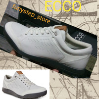 Sepatu golf pria ecco street retro original