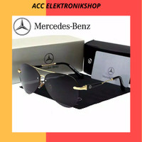 Kacamata Sunglass Mewah Mercedes Benz Aviator Pilot Premium Mirror