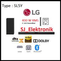SoundBar LG SL5Y 2.1 Channel DOLBY Audio Bluetooth Optical RMS 400watt