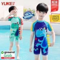 Baju Renang Anak Cowok Laki Laki Motif Dino Dinosaur 3D YUKE ORIGINAL