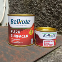 ORIGINAL BELKOTE EPOXY PU 2K FILLER SURFACER CAT DASAR EPOKSI 1/4
