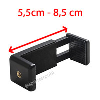 Holder Clamp for Tongsis Tripod Smartphone All iPhone up to 6 inch
