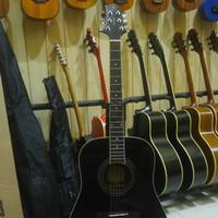 Gitar Akustik Samick Gregbennett GD 101 S BK