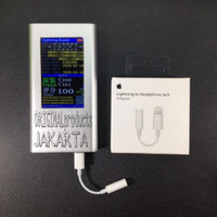 adapter converter iphone 7 7+ plus to audio jack earpods lightning ori