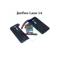 Backdoor BACK CASING tutup belakang asus zenfone 2 Laser 5in Z00RD ORI