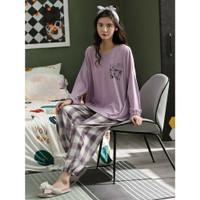 Piyama 558 Import Baju Tidur Panjang Anak Perempuan Remaja Wanita