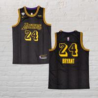 Baju Jersey Basket NBA Kobe Bryant Lakers Mamba Black Heart Gianna