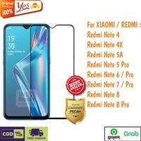 Tempered Glass Redmi Note 5 7 8 Pro Anti Gores Kaca Full Lem 5D/9D - TG FULL 5D9G, REDMI NOTE 7PRO