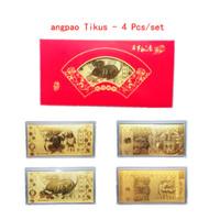 ampao imlek 2021 Chinese New Year Shio Sapi Red Envelope AngPao Emas d