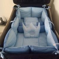 Paket Bumper Silikon Box Bayi Keliling 4 Sisi Termasuk Sprei Set