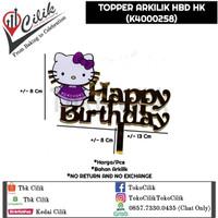topper+arkilik+hbd+hello+kitty+bento+tusukan+kue+cupcake+tumpeng+roti