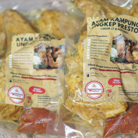 Ayam Kampung Ungkep Sambal Cumi 1 Ekor (7-8 Potong)