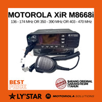 Rig Motorola XIR M8668/ XIR M 8668 40 watt