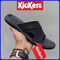 sandal Kickers pria kulit asli - sandal kulit asli - sandal selop pria