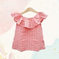 baju sabrina anak perempuan / atasan bayi import blouse anak