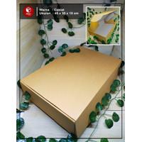 Kardus Jaket, Baju/Gift Box - size 45 x 30 x 10 cm Kardus/Polos/Gift