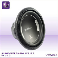 venom car audio subwoofer diablo 10d 10inch