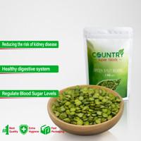 Green Split Peas - 1 Kg - Kacang Kapri Belah