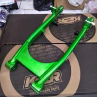 Swing Arm K2R Kawahara RX King Coak Bolong Hijau Oval RXS RXK