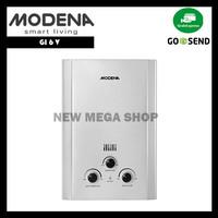 Modena GI 6 V Gas Water Heater Pemanas Air 6L