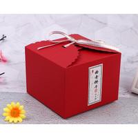 Box Hampers Merah Gift Box Kotak Kado Imlek Red Christmas