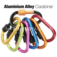 Carabiner Key Chain Hook Bags Cantolan Tas Gantungan Kunci Ring - Hitam