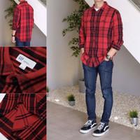 GAP original plaid shirt / kemeja flanel / kemeja kotak / hem flannel