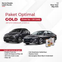 Paket Servis Optimal Gold (Tune Up + Oli Gold)