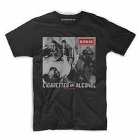 Kaos Baju Tshirt Band Oasis A-70