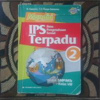 buku Erlangga SMP mandiri IPS terpadu kelas 8