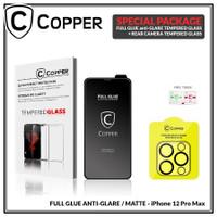 iPhone 12 Pro Max - Bundling Tempered Glass GLARE + TG Kamera