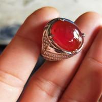 cincin batu bacan obi 100%asli dan natural