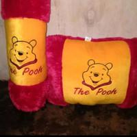 Bantal Guling Winnie The Pooh / Bantal Guling Karakter Murah