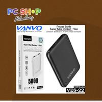 Powerbank Vanvo VES-22 6600Mah