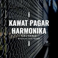 KAWAT PAGAR HARMONIKA GALVANIS TINGGI 2 METER