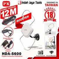 PX HDA-5600 ANTENA TV Digital Indoor Outdoor Antene PX HDA5600 5600