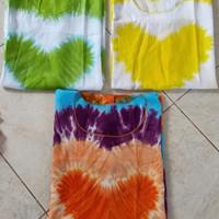 Baju atasan rayon bali pelangi