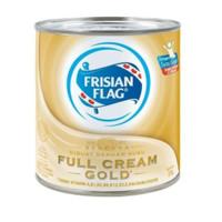 Frisian Flag Gold Kaleng 370g | Susu Bendera Full Cream Kental Manis