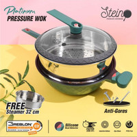 Stein cookware platinum press wok / panci presto
