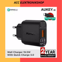 (QUALCOMM CERTIFIED)PA-T9 18 W AUKEY TURBO CHARGER SINGLE USB PORT